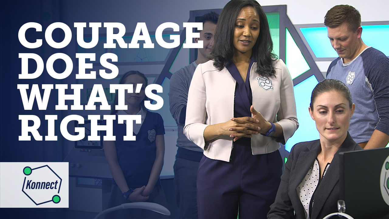 Courage does whats right thumbnail