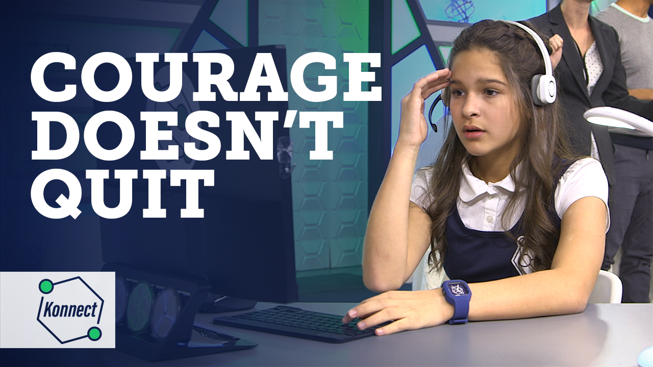 Courage doesnt quit thumbnail